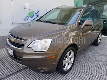 Foto venta Auto usado Chevrolet Captiva Sport LT (2014) color Cafe precio $205,000