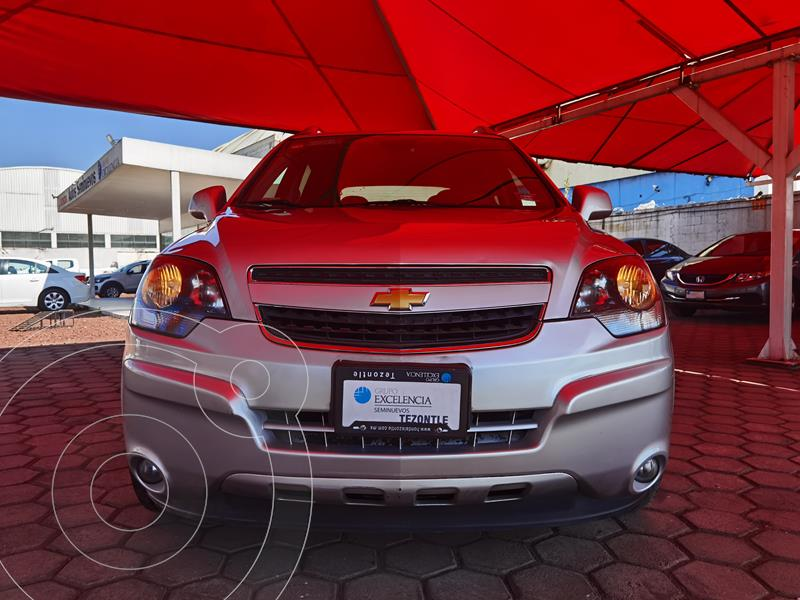 Foto Chevrolet Captiva Sport LS Piel usado (2015) color Gris precio $200,000