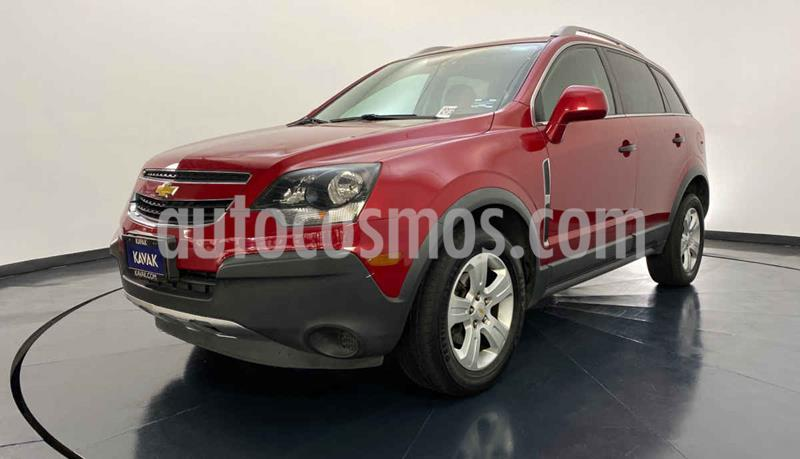 Chevrolet Captiva Sport LT Piel usado (2014) color Rojo precio $182,999