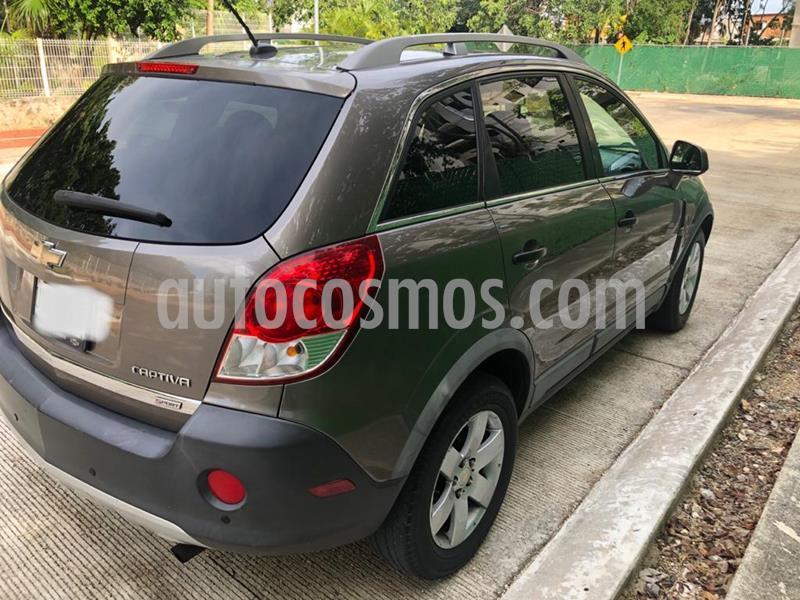 Chevrolet Captiva Sport Paq B usado (2011) color Mocha precio $110,000