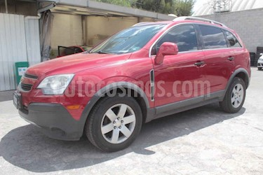 Chevrolet Captiva Sport Sport Paq A usado (2011) color Rojo precio $125,000