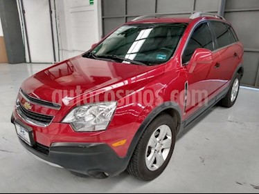 Chevrolet Captiva Sport 5P LS L4/2.4 AUT PIEL usado (2013) color Rojo precio $170,000