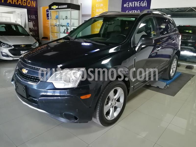 Chevrolet Captiva Sport LT Piel V6 usado (2014) color Negro precio $175,000