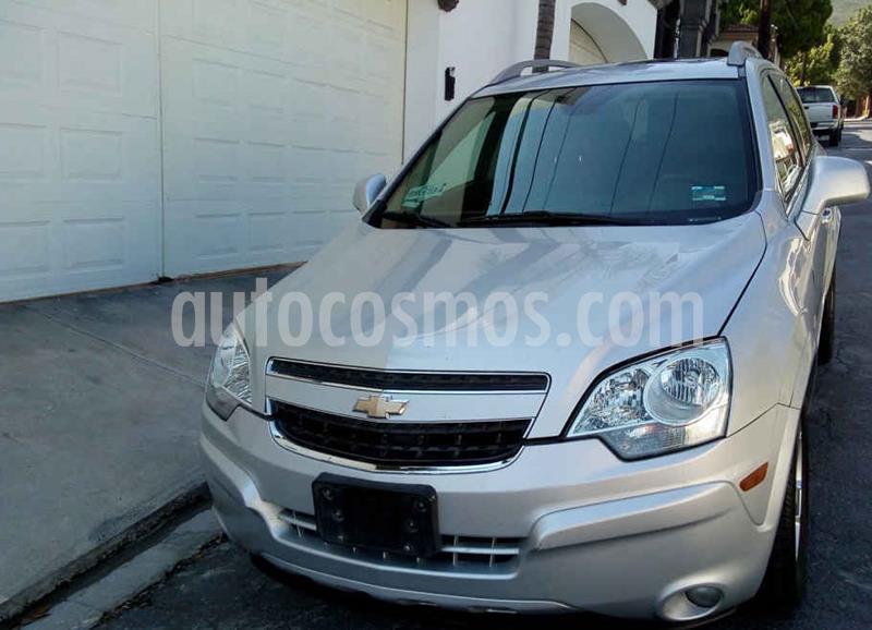 Chevrolet Captiva Sport LT Piel V6 usado (2013) color Plata precio $163,000