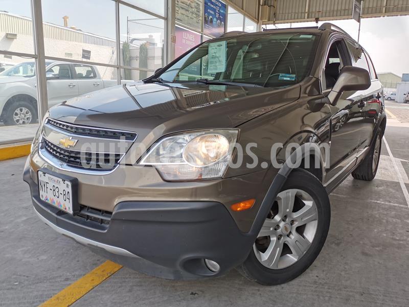 Chevrolet Captiva Sport LS Piel usado (2014) color Terra precio $165,000