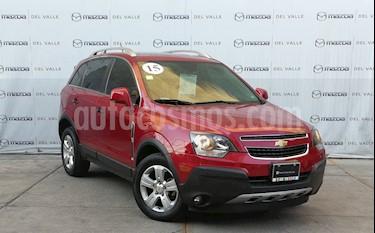 Chevrolet Captiva Sport Paq B usado (2015) color Rojo Tinto precio $215,000