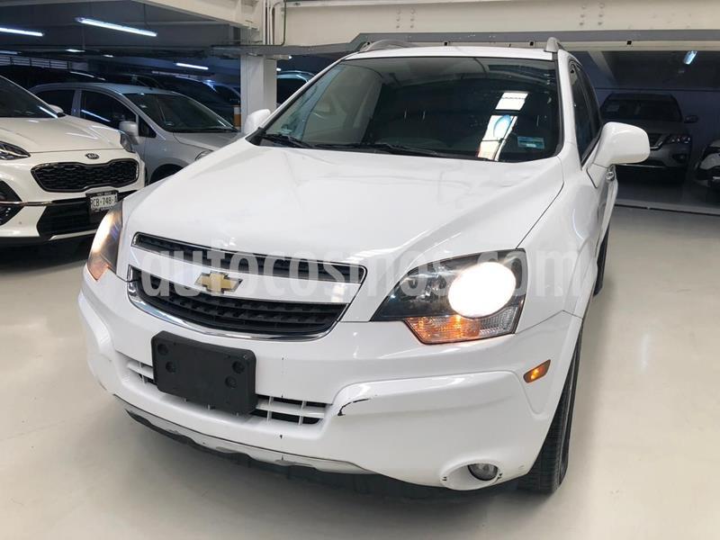Chevrolet Captiva Sport LT Piel V6 usado (2015) color Blanco precio $199,100