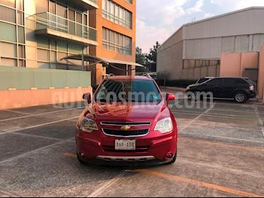Chevrolet Captiva Sport Paq D usado (2011) color Rojo Tinto precio $126,000