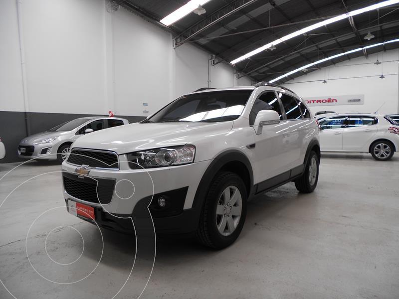 Chevrolet Captiva LS 4x2 usado (2015) color Blanco precio $1.860.400