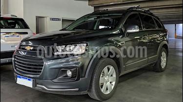 Chevrolet Captiva LS 4x2 usado (2017) color Gris Oscuro precio $1.400.000