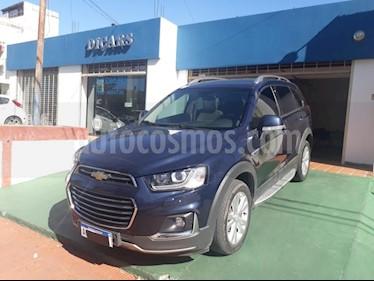 Chevrolet Captiva LTZ 4x4 D usado (2018) color Azul precio $2.190.000
