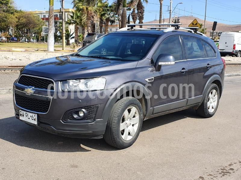 Chevrolet Captiva  LT 2.4 4X2 Aut  usado (2015) color Gris Oscuro precio $10.500.000