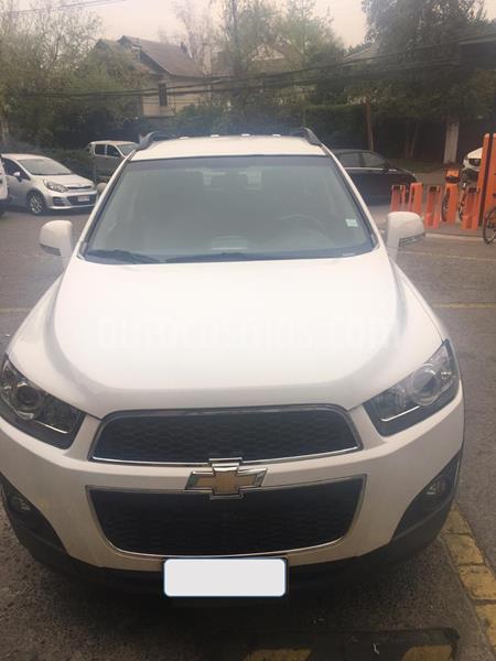 Chevrolet Captiva  LS 2.4 4X2  usado (2011) color Blanco precio $6.800.000