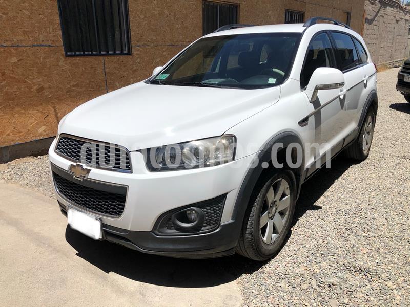Chevrolet Captiva  LS 2.2 Diesel 4X2  usado (2014) color Blanco precio $9.390.000