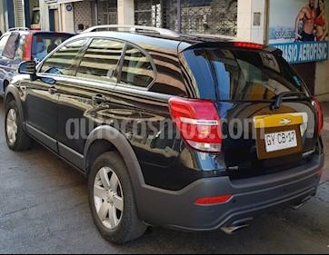 Chevrolet Captiva  LT 2.4 4X4  usado (2015) color Negro precio $10.500.000