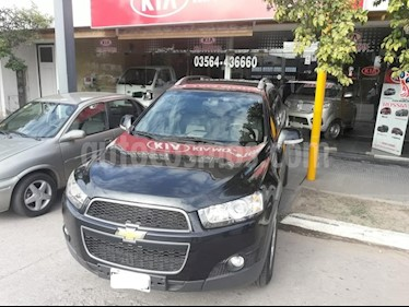 Foto venta Auto usado Chevrolet Captiva LTZ 2.2D 4x4 Aut (2014) color Negro precio $790.000