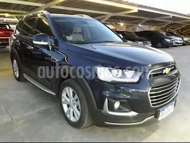 Foto venta Auto usado Chevrolet Captiva LTZ 4x4 D (2017) color Azul precio $1.425.000
