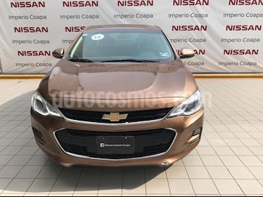 Chevrolet Cavalier Premier Aut usado (2018) color Cafe precio $195,000
