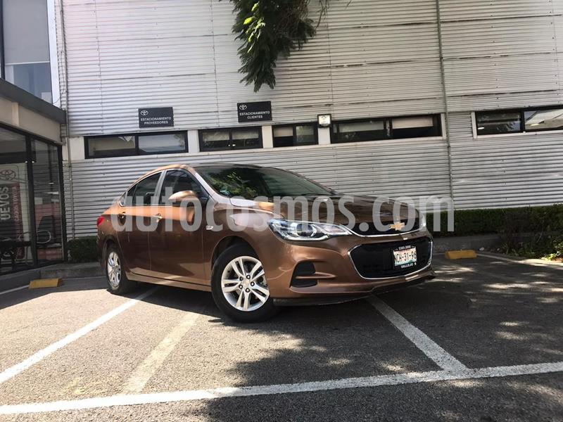 Chevrolet Cavalier LT Aut usado (2018) color Cafe precio $210,000