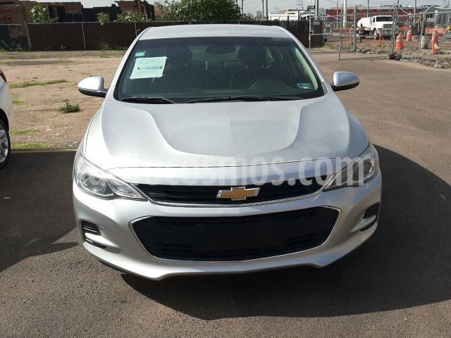 Chevrolet Cavalier 4P LT L4/1.5 AUT usado (2018) color Plata precio $205,000
