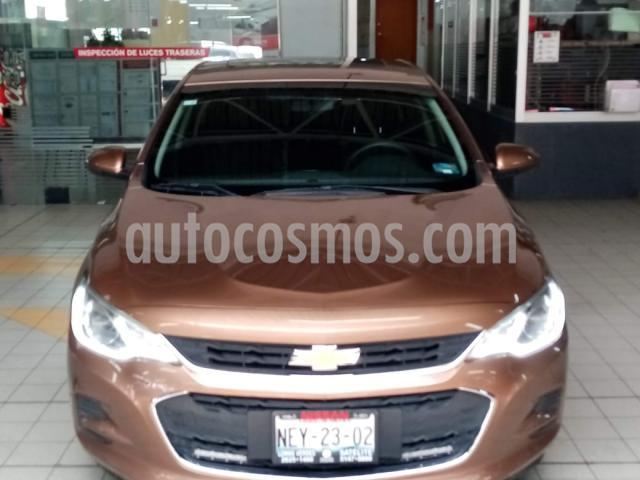 Chevrolet Cavalier 4P PREMIER 1.5L TA A/AC. VE PIEL QC RA-16 usado (2018) color Naranja precio $209,900