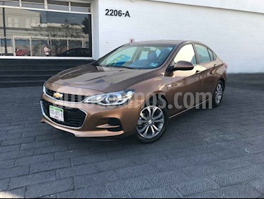 Chevrolet Cavalier 4 pts. C PREMIER AT usado (2019) color Cafe precio $209,900