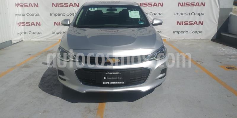 Chevrolet Cavalier 4P 2.2L Basico B usado (2019) color Gris Plata  precio $219,000