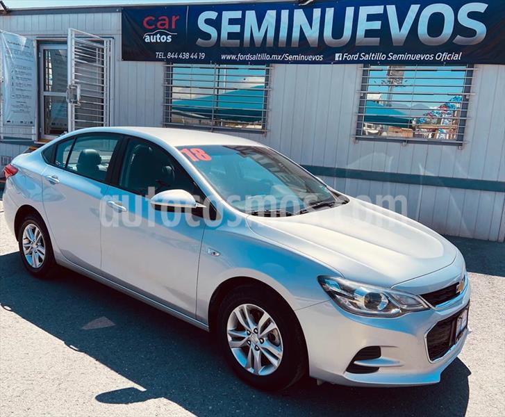Chevrolet Cavalier LT Aut usado (2018) color Plata precio $189,000