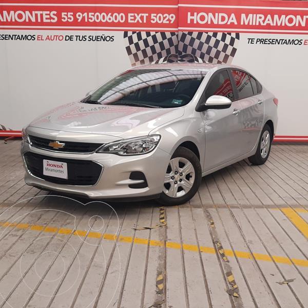 Foto Chevrolet Cavalier LS usado (2018) color Plata Brillante financiado en mensualidades(enganche $48,750 mensualidades desde $3,978)