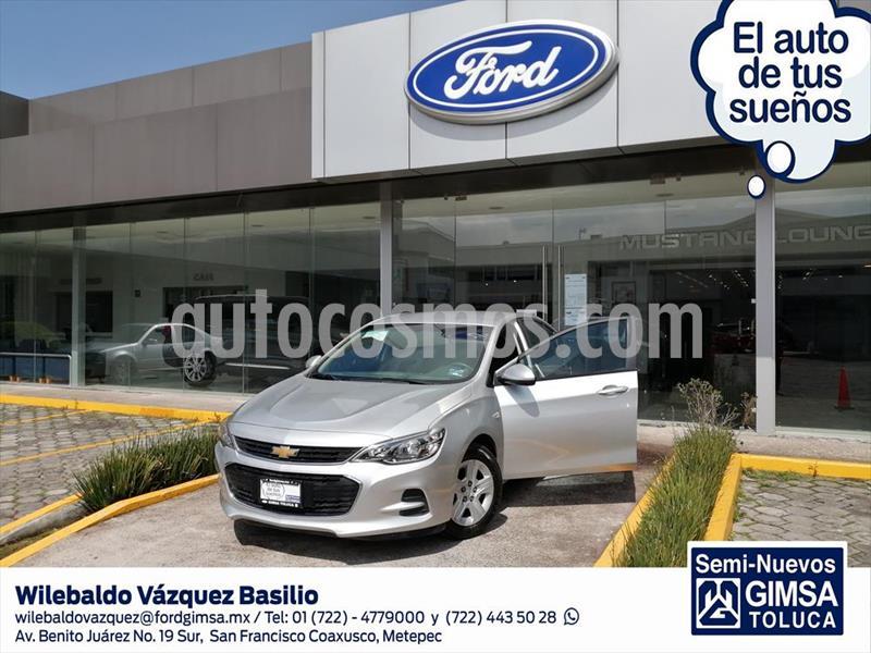 Chevrolet Cavalier LS usado (2019) color Plata precio $199,000
