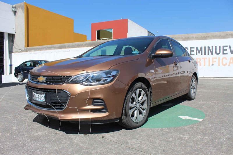 Chevrolet Cavalier Premier Aut usado (2019) color Naranja precio $265,000