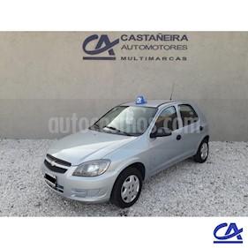 Chevrolet Celta LT 5P Paq usado (2011) color Gris Claro precio $279.000