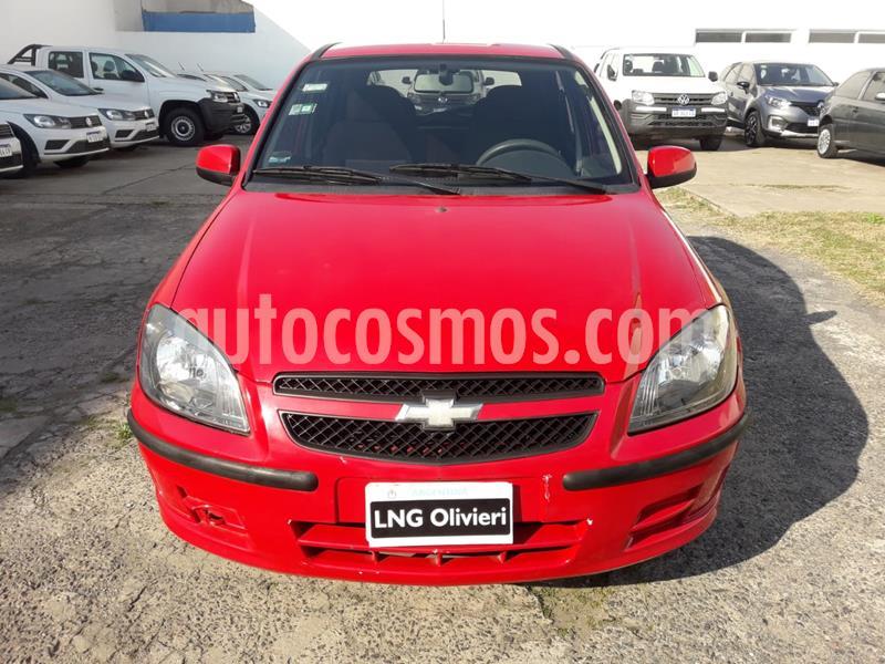 Chevrolet Celta LT 5P Paq usado (2011) color Rojo Pepper precio $420.000