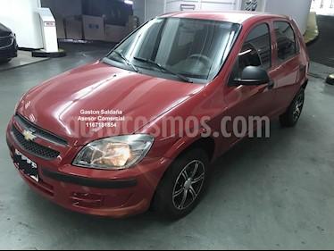 Chevrolet Celta LS 5P usado (2013) color Rojo precio $340.000