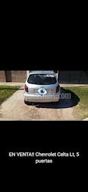 Chevrolet Celta LT 5P usado (2014) color Gris Metalico precio $450.000