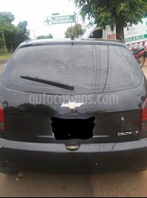 Chevrolet Celta LS 3P Ac usado (2012) color Negro precio $340.000