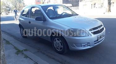 Foto venta Auto usado Chevrolet Celta LS 3P Ac (2011) color Plata Metalico
