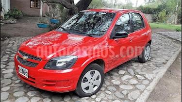 Foto venta Auto usado Chevrolet Celta LT 5P Paq (2015) color Rojo precio $259.000