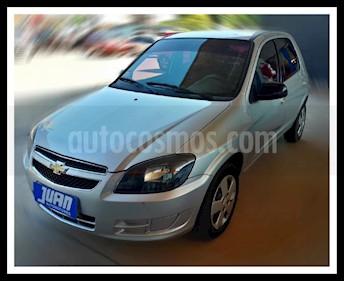 Foto venta Auto usado Chevrolet Celta LT 5P Paq (2014) color Gris Claro precio $225.000