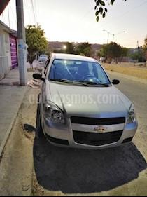 Foto venta Auto usado Chevrolet Chevy Sedan Paq H (2009) color Plata precio $65,000