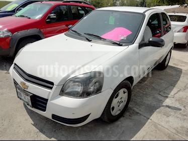 Foto venta Auto usado Chevrolet Chevy 3P Paq B (2011) color Blanco precio $62,000