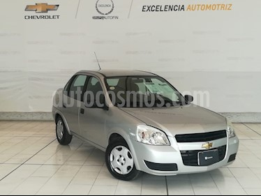 Foto venta Auto usado Chevrolet Chevy 3P Paq D Aut (2010) color Plata precio $89,000