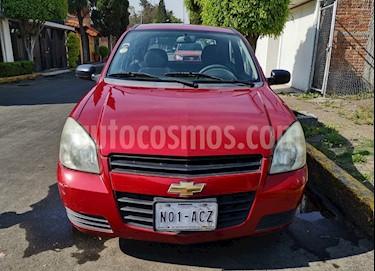 Chevrolet Chevy 3P Paq D Aut usado (2010) color Rojo precio $60,000