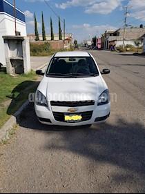 Foto venta Auto usado Chevrolet Chevy 3P Paq H (2012) color Blanco precio $65,000