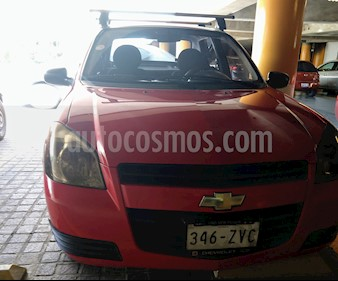 Chevrolet Chevy 5P Paq B usado (2009) color Rojo precio $60,000
