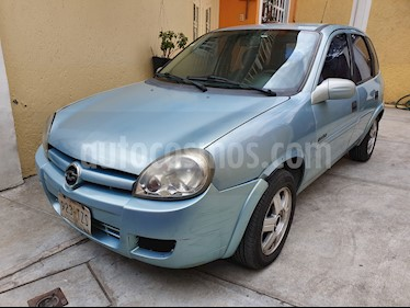 Foto venta Auto usado Chevrolet Chevy 5P Swing Pop M (2006) color Azul Metalizado precio $43,500