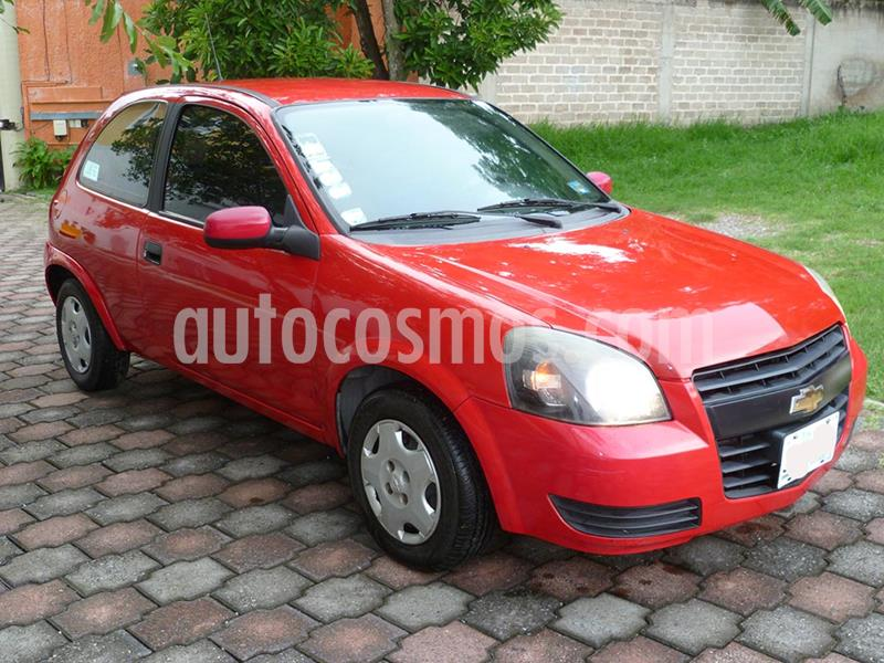 Chevrolet Chevy 3P Paq B usado (2011) color Rojo precio $72,500