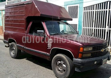 Foto venta carro usado Chevrolet Cheyenne Auto. 4x4 (1993) color Rojo precio u$s2.300