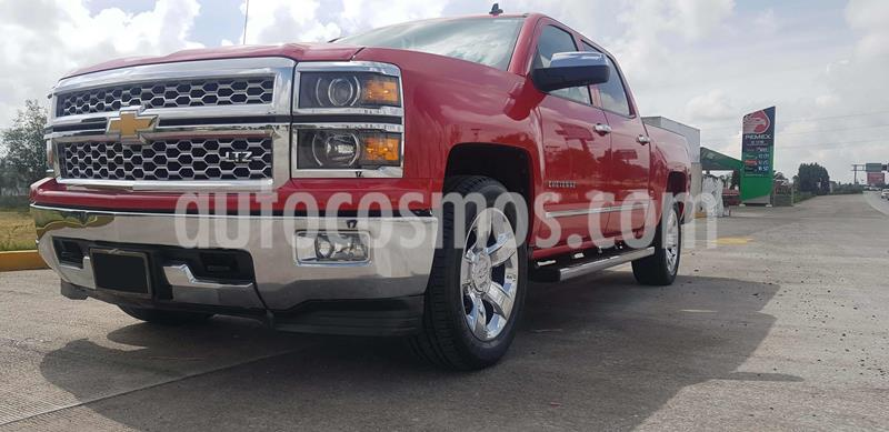 Chevrolet Cheyenne 2500 4x4 Doble Cab High Country usado (2014) color Rojo Merlot precio $430,000