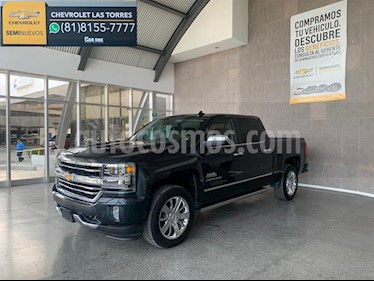 Chevrolet Cheyenne 2500 4x4 Doble Cab High Country usado (2018) color Azul precio $750,000